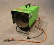 Heizlüfter Gas/Elektro